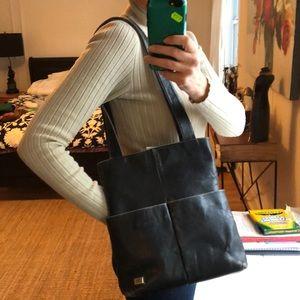 Handbags - Black leather purse